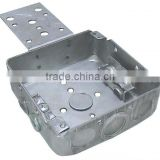 "4""Square Steel Box Deep 1-1/2 high with braket"