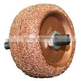 "Back to Back Tire Patch Buffing Wheels, 2-1/2"" 3/8"" Arbor Hole Repair Buffer"