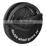 "OEM double bike wheel bag guard 29"" manufacturer china                                                                         Quality Choice"