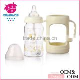 korea innovative products glass baby bottles baby feeder panda milk infant formula glass baby bottle