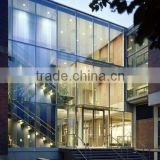 Curtain wall glass, Insulated glass for curtain wall, energy saving glalss, low-e glass, wth TUV approval