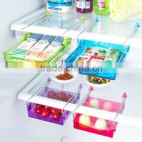 N107 Creative kitchen refrigerator shelf layer, multi use plastic storage box