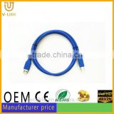 High speed round USB 3.0 printer cable magnetic ring printer cable usb for Digital devices