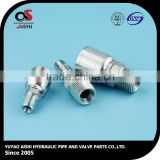 [super deal] JIC / NPT / BSP / METRIC hydraulic hose fittings metric barbed hose fittings