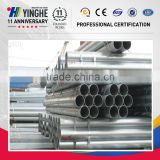 thin wall flange galvanized steel pipe
