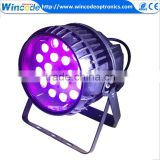 Factory cheap price waterproof stage lighting auto led zoom par light with ce lvd emc certificate
