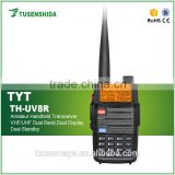 2016 popular DMR digital radio TYT TH-UV8R dmr dual band transceiver with waterproof function free headset