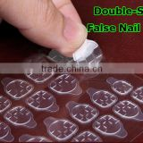 2015 New Popular Double-sided Original 3M Glue Gel False Nail Sticker Paste for False Nail Tips with Handle