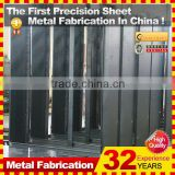 custom CNC machining stamping metal sheet frame for building construction