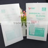 disposable white paper printed Sterilization surgical gloves Paper packing Bag