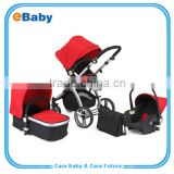 High quality 3 In 1 Baby stroller Travel System , New Baby Stroller 3 in 1 with reversable seat