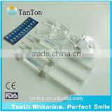 Strongest Carbamide Peroxide Teeth Whitening Gel Syringe Kit 35%cp+Wwhite teeth whitening mini led light
