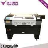 Hanniu 900*600 home used business cheap fabric acrylic wood rubber plastic laser engraving machine price laser machine hot sale                                                                                                         Supplier's Choice