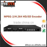 Professional Hotel tv system over Coax hdmi to dvb-c encoder modulator,1080p h.264/mpeg2 video encoder with ASI/IP out