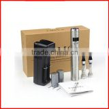 E Cigar Vamo V5 starter kit with LCD Display Variable Voltage Battery 2*1.6ml CE4 Atomizer Clearomizer