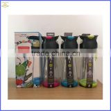2016 Factory Supply Food Grade Lemon Bottle Fruit Infuser Water Bottle Fruit Juice Glass Bottle