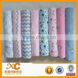 wholesale 100% cotton baby muslin swaddle blanket