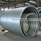 long use time metal galvanized steel culvert pipe price