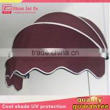 Economic Half-round Used French Style Aluminum Window Dutch Awnings Aluminum For Canopy Sale