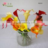 artificial mini PU plastic calla lily flower