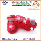 2014 Fashion newborn hand knit baby shoes