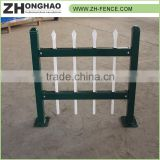 Metal Frame Material Hot Dipped Galvanized CE Certificate PVC coated ornamental wrought iron fence