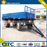 farm trailer tractor tipper trailer/AXLES DRAWBAR FULL TRAILER WITH HYDRAULIC TIPPING FUNCTIONS
