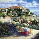 Landscape acrylic diy canvas oil painting by numbers for wholesales36764