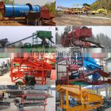River Gold Mining Equipment / Gold Trommel Washing Plant / Gold Gravity Sorting Machines For Sale