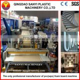 Pvc/ Wpc Conical Twin Screw Extruder /wood Plastic Composite Production Line/wood Floor Making Machine