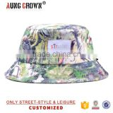 woven label bucket hat wholesale/cheap digital print bucket hat/custom digital print bucket hat