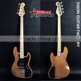 DS-EB6012 4 Strings Nature Color Electric Bass Guitar