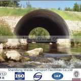 Corrugated Steel pipe used for Bridge Culvert