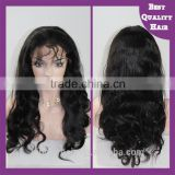 Natural Body Wave Brazilian Human Hair Wig,Quality 100% Human Hair Full Lace Wig With Baby Hair
