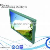 "HD 18.5"" advertising displayer lcd displayers ad hd media player touch screen retail"