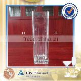Hand-blown 200mm tall wholesale glass flower vase