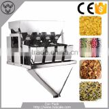 2016 News 4 Heads Linear Weigher 100g,200g,500g ,1000g granule packing machine