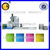 Double stages granulator/double stage pelletizing machine/plastic granules making machine