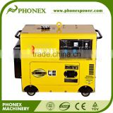Factory Price 5Kva Diesel Engine Generator Home Use Silent Diesel Generator Electric Start With Battery