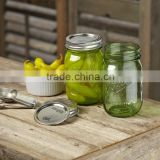 16oz Pint Mason Jar with Lids Canning Ball Heritage Collection