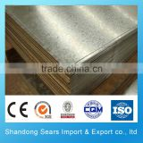 GOOD PRICE AND QUALITY galvanized perforated metal sheet density of galvanized steel sheet