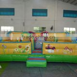 High quality children's kids indoor playground Outdoor Large Inflatable Castle Bouncer with EN14960 UL