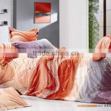 100% cotton nice print 3 or 4pcs abstract design bed sheets Bedding set Duvet cover set Bedline