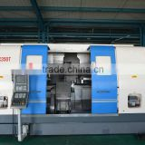 double spindle cnc lathe machine CNC350T slant bed cnc lathe for metalworking