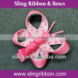 Pink Butterfly Ribbon Sculpture