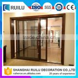 Made in China professional powder coated bullet proof aluminum security sliding door to room price