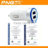 2015 Hot Selling Wholesale Retractable Usb Car Charger Adapter For Samsung Safety Hammer Car Charger