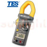 TES-3082 True RMS 600A AC/DC Clamp Meter with Peak Hold Measurement