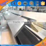 Hot! angle shape tile trim aluminum profile joint corner 6063 angle aluminium price