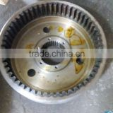 heat treated steel internal ring gear wheel loader spare parts produced by china gear manufacturer